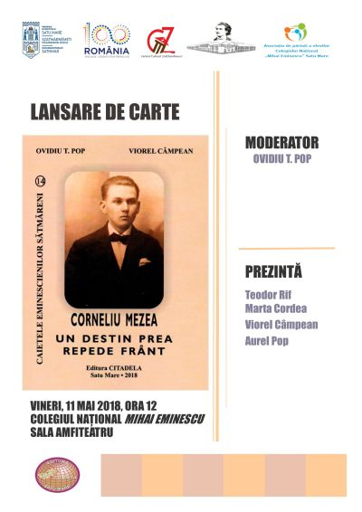 Ziua Colegiului Mihai Eminescu. Lansare de carte