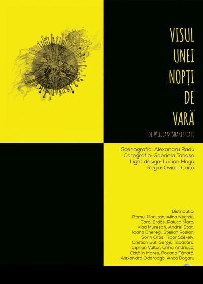 """Premieră la Teatrul de Nord: """"Visul unei nopți de vară"""", regia Ovidiu Caița"""