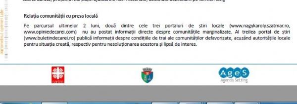 E oficial! Doar Buletin de Carei publică informaţii despre condiţiile de trai ale comunităţilor defavorizate