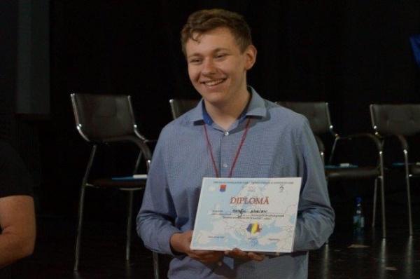 Câştigătorul primei ediţii  a Concursului de cultură generală de la Carei