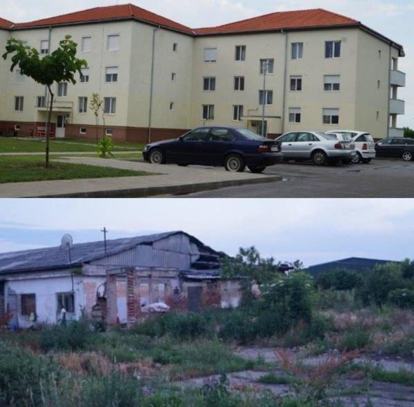 Locuinţe sociale vs. Locuinţe sociale în Carei