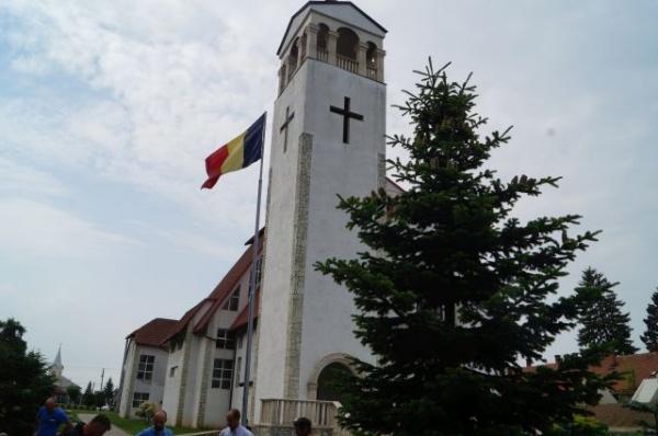 Monumentul Comemorativ al foştilor refugiaţi şi expulzaţi din 1940 din Carei