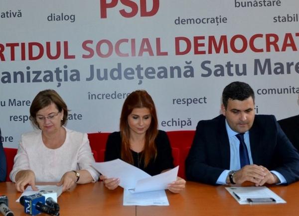 Comunicat de presă al PSD Regiunea de Nord Vest