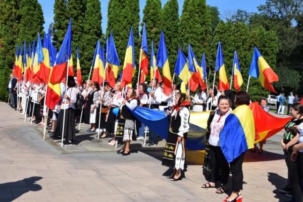 Ziua  Imnului Naţional la Carei oraşul unde este interzisă amplasarea catargului cu drapel românesc