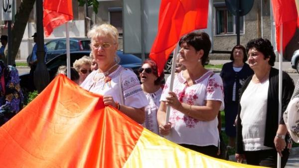 Careieni la protest. Nu Codului Administrativ, DA pentru România şi limba română!