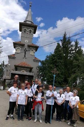 Un grup de credincioşi reface drumul lui Simion Bărnuţiu spre casa surorii din Bădăcin