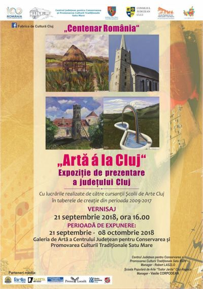 Expoziţie de prezentare a  judeţului Cluj în municipiul Satu Mare