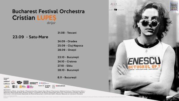 Turneul național 100 x Enescu ajunge la Satu Mare