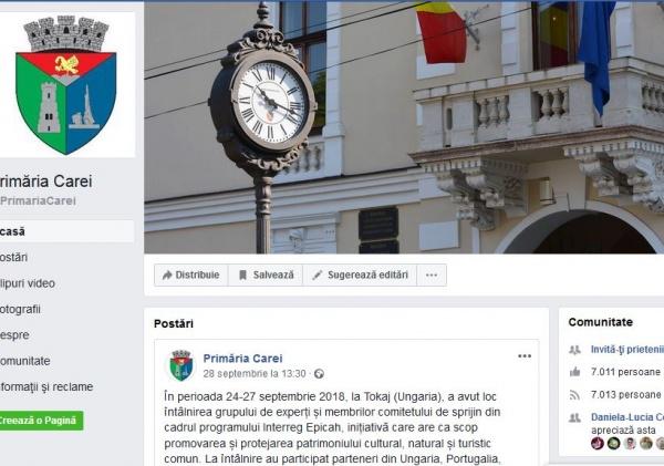 """Nimic pe pagina Primăriei Carei despre lansarea de carte """"Silviu Dragomir – istoric"""""""