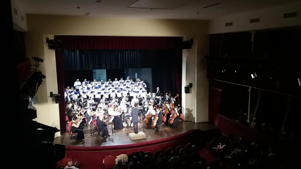 """Concertul """"Răsună Centenarul României!"""" pe scenă fără tricolor"""