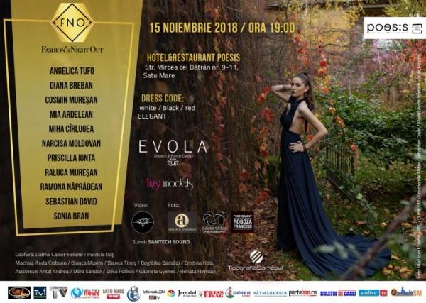 Fashion Night Out, evenimentul cu cea mai mare anvergură din Satu Mare