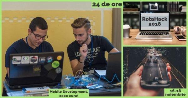 RotaHack 2018. Concurs cu premii în valoare de peste 2000 euro