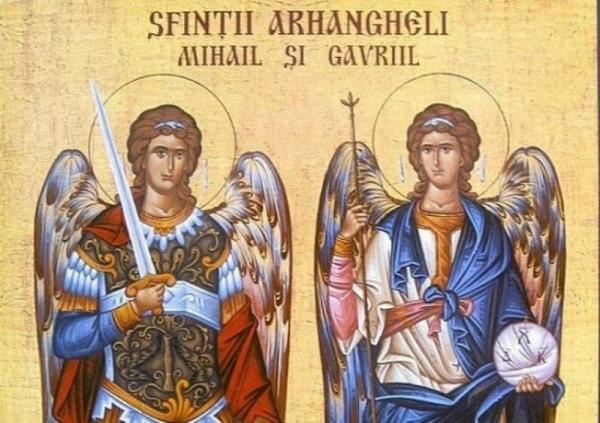 Sărbătoarea Sfinţilor Arhangheli Mihail şi Gavriil, ocrotitorii jandarmilor