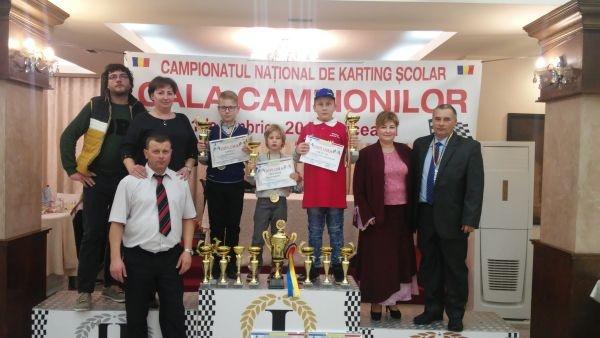 Karting. Elevii lui Ioan Mille revin cu Menţiune de la Gala Campionilor de la Suceava