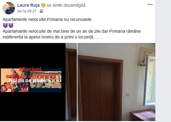 Deci…se minte! Primăria Carei nu a dat încă o locuinţă mamei Laura Ruja cu patru copii