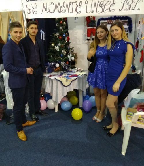 Elevi ai Liceului Tehnologic Iuliu Maniu Carei la Târgul Firmelor de Exerciţiu Baia-Mare