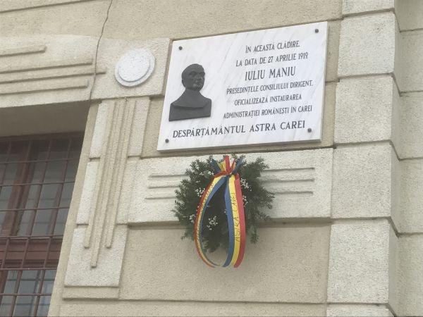 Centenar careian. La 100 de ani de la instalarea administrației românești în Carei românii nu sunt reprezentați în conducerea orașului