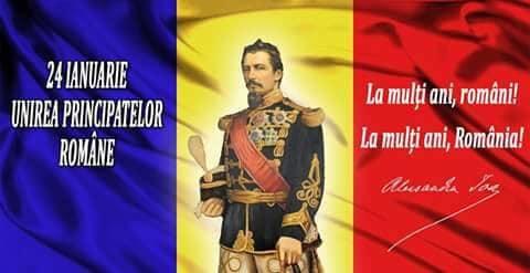 160 de ani de la unirea Moldovei cu Țara Românească