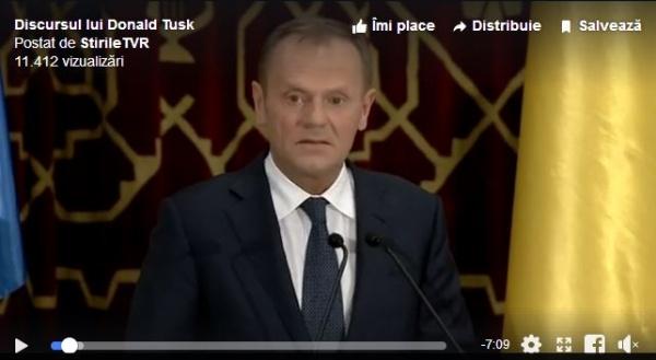 Discursuri în limba română din partea liderilor UE la Ateneul Român