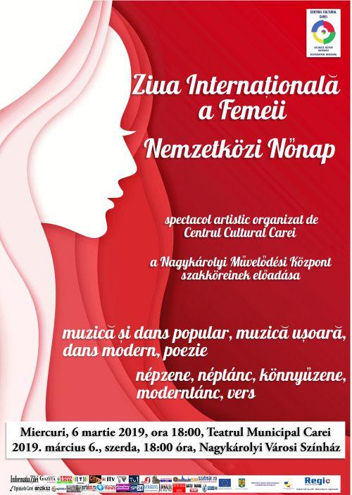 Ziua Femeii sărbătorită la Teatrul Municipal Carei