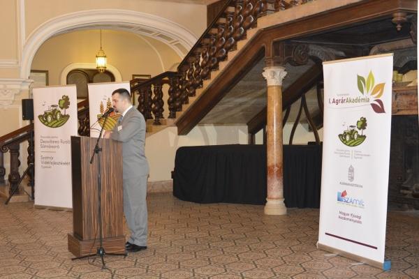 Academie Agrară la Castelul din Carei organizată de Ministerul Agriculturii din Ungaria, Asociația Agricultorilor Maghiari din județ și ADR