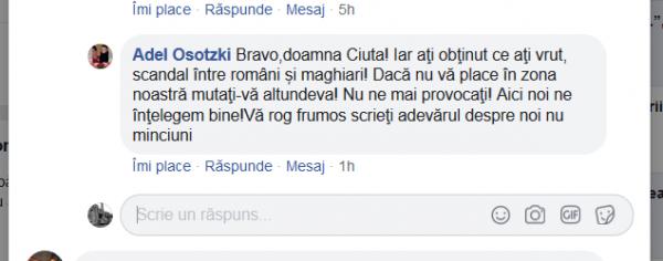 CADRU DIDACTIC atac la persoană pentru informarea despre interzicerea unui catarg cu drapel românesc. ,,Nu ne provocați,, și ,,mutați-vă altundeva,,