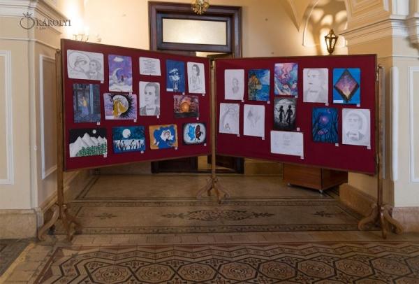 """Puteţi vota pentru lucrările de desene şi grafică de la concursul """"Motive și simboluri din creația eminesciană"""""""