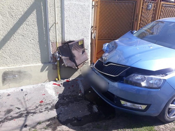 Accident la Carei. Conducte de gaz afectate