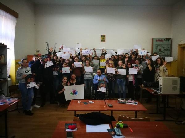 Ziua Bolilor Rare marcată la Liceul Tehnologic Iuliu Maniu Carei