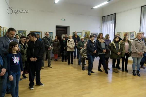 Asociația Artiștilor Plastici Sătmăreni expune la Carei
