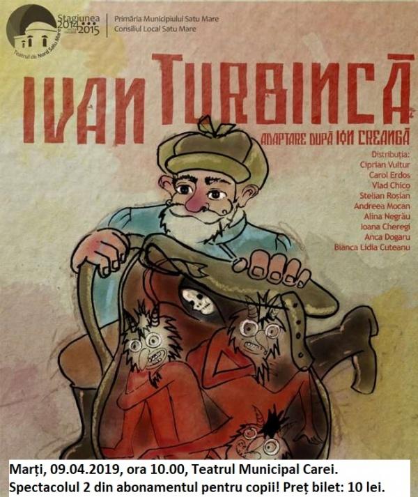 Teatru pentru copii la Carei. În limba română