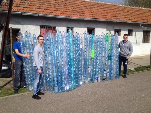 ,,Labirintul reciclării,,  cuprinde tot județul