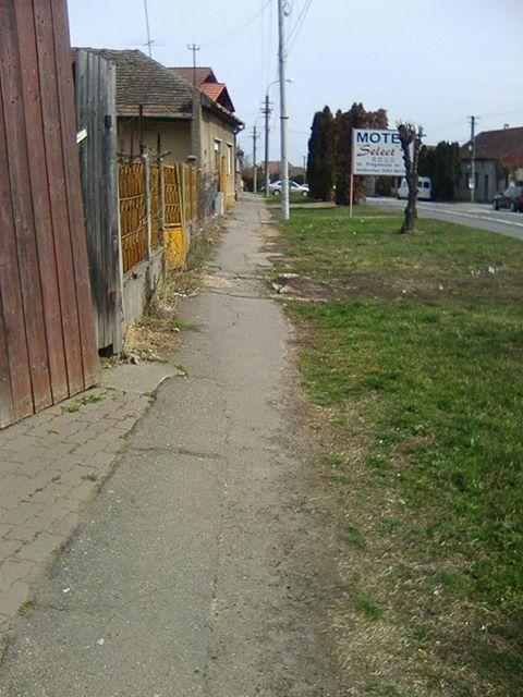 Careienii prezintă starea trotuarelor