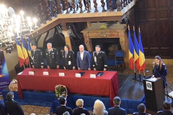 Ziua Poliției Române sărbătorită de IJP Satu Mare la Carei