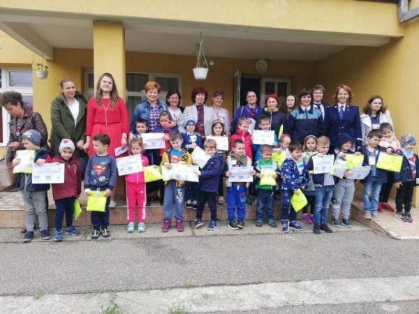 """Prezențe careiene la concurs de educaţie rutieră pentru copii,  """"Suntem mici dar circulăm corect!"""""""
