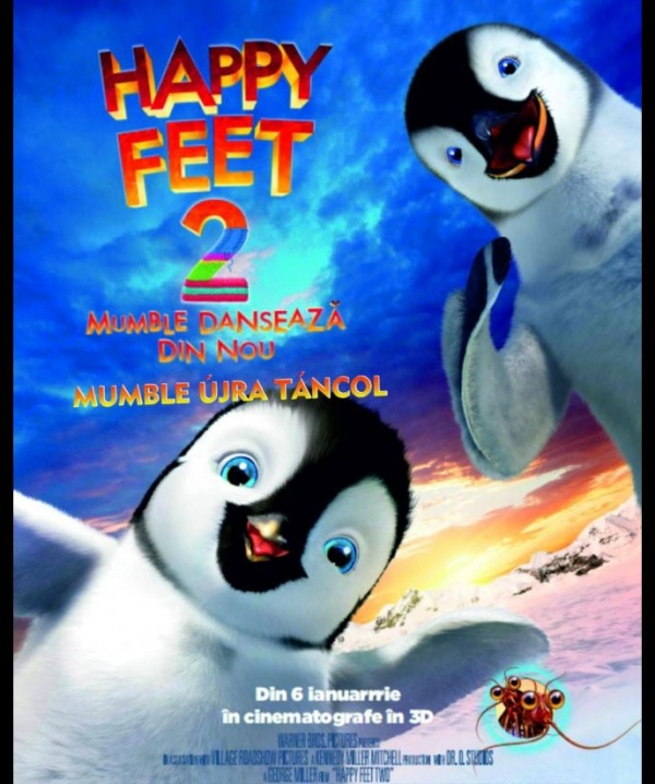 Happy Feet 2 la Carei
