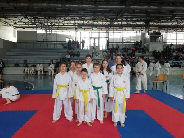 Karate. Rezultate deosebite pentru careieni