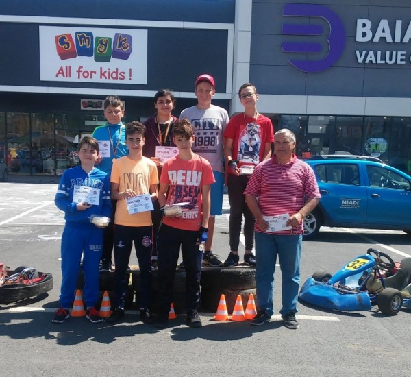 Karting. Careienii revin cu premii de la Baia Mare