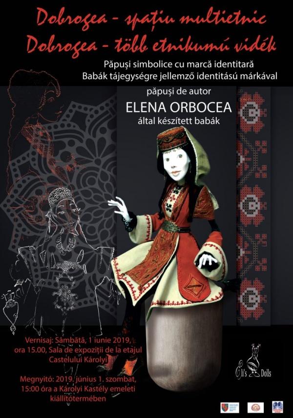 Expoziție de păpuși  Elena Orbocea din Tulcea la Castelul din Carei