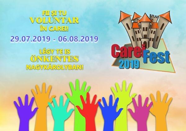 Se caută voluntari pentru CareiFest 2019