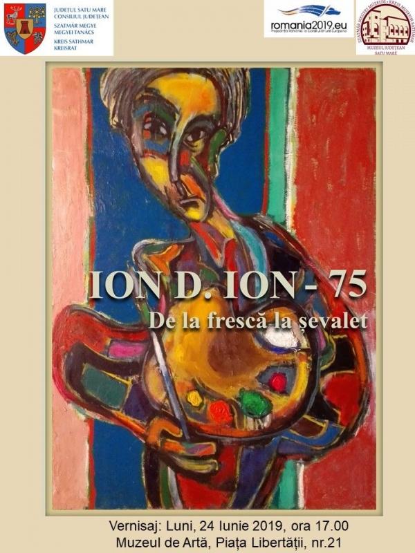 """Expoziţie comemorativă """"ION D. ION 75 – De la frescă la şevalet"""""""