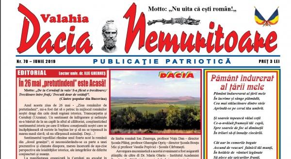 Dacia Nemuritoare la numărul 70