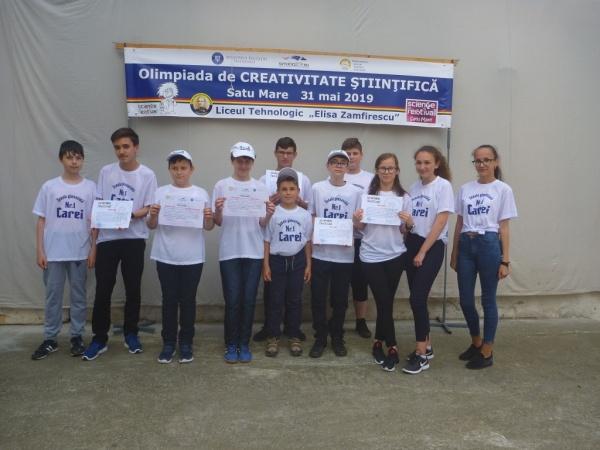 Premiile elevilor Clubului de robotică de la Școala Gimnazială Nr.1 Carei