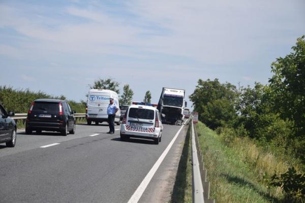 Accident cu 4 victime pe DN 19 între Carei și Moftin