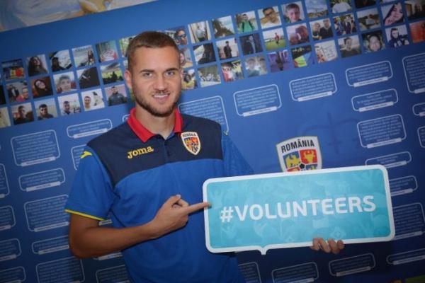 Se recrutează voluntari pentru organizarea UEFA EURO 2020 în România