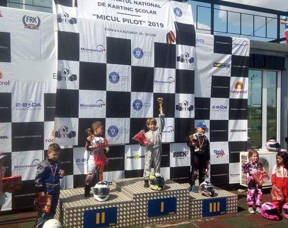 Rezultate deosebite pentru careieni la Concursul Național  de Karting  Școlar  ,,MICUL PILOT,,