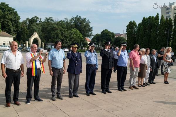 Ziua Imnului Național nu a fost onorată cu prezența la Carei de către conducerea exclusiv UDMR a orașului