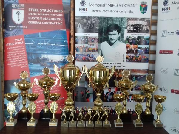 Handbal Carei 2019. Rezultate parțiale la Memorialul Mircea Dohan-Cupa NIRO