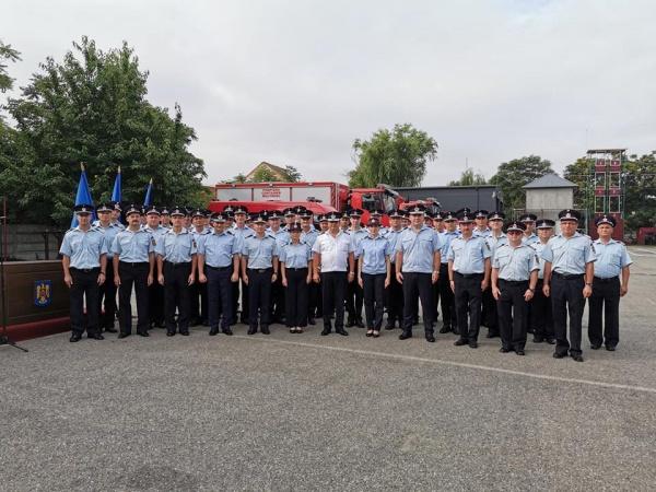 Avansări în grad la  ISU Satu Mare. 55 de pompieri merituoși