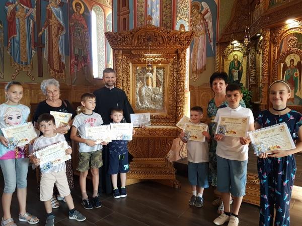 Tabăra creștină ,,Copiii sub acoperământul Maicii Domnului,, de la Carei